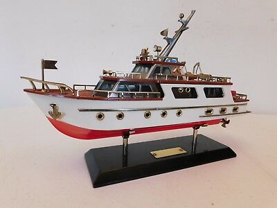 VINTAGE OLD 1960s ANTIQUE NAUTICAL NEAR MINT CABIN CRUISER SHIP OLD BOAT RADIO