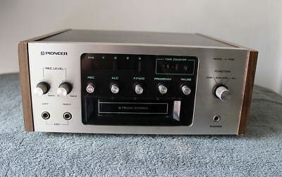 Pioneer H-R99 8 Track Tape Deck Player Recorder - Tested & Working!!