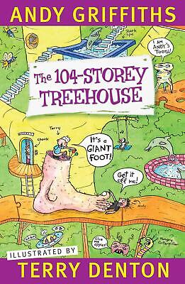 The 104-Storey Treehouse by Andy Griffiths Paperback Book Free Shipping!