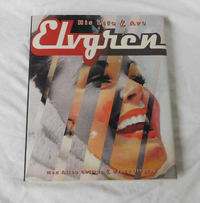 Max Collins Drake Elvgren His Life And Art Book Excellent