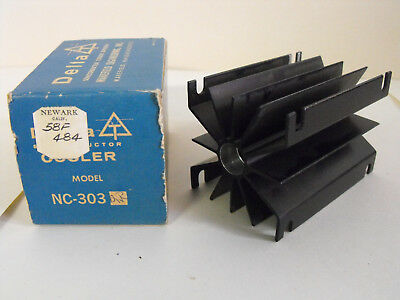 Semiconductor Cooler, Annodized Aluminum Fin Style, Delta model NC-303