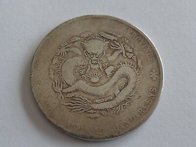 1904 CHINA KIANGNAN PROVINCE DOLLAR L&M-257 Y#145a.12 VG NO RESERVE! MUST SEE!!