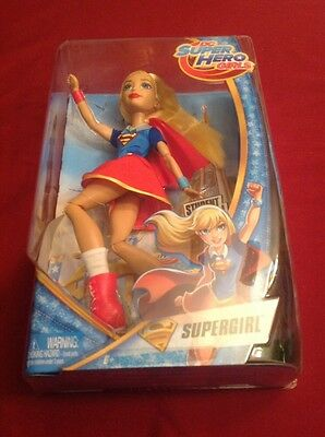 "SUPERGIRL Action Figure Doll - Mattel DC Super Hero Girls 12"" Inch"