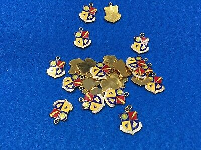 Lot of 25 1970's Vintage US Air Force USAF Security Service Charms