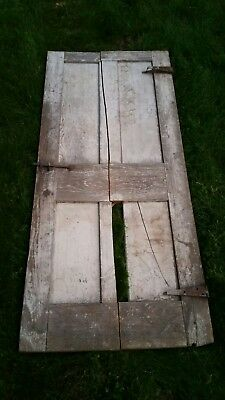 "c1830-40 raised four panel door old paint 69 1/2"" tall x 29 3/4"" wide (d18)"