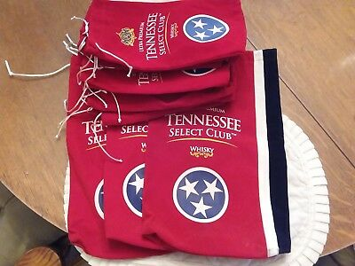 Eighteen Tennessee Select Club Ultra Premium whiskey Velvet Bags