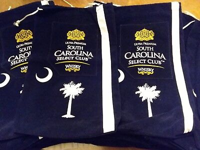 Twenty Seven South Carolina  Select Club Ultra Premium whiskey Velvet Bags