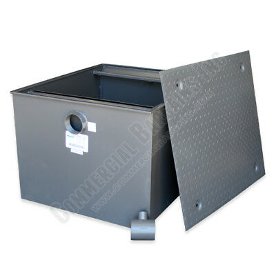 Commercial Grade 200lb Grease Trap 100GPM Wentworth WP-GT-100
