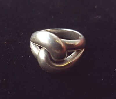 Details about  /James Avery RETIRED Sterling Silver Cadena Ring Size 5.25