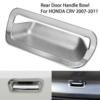 ABS Chrome Car Vehicle Rear Door Handle Bowl Cover Trim For HONDA CRV 2007-2011