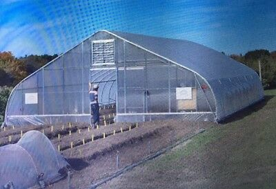 Greenhouse frame kit 30 x 96' 3 Poly New - Never mounted
