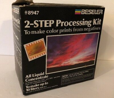 Beseler 2 Step Processing Kit for Color Prints Negative Film Developing #8947