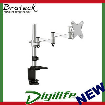 "Brateck Single Flexi Arm Monitor Mount Up to 27"" BT-LDT02-C012"