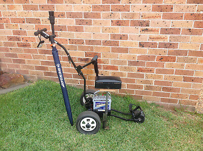 Electric golf buggy, MGI, used, remote