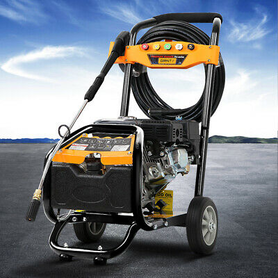 4800 PSI High Pressure Washer Jetstream Water Cleaner Brass Pump 8HP Petrol