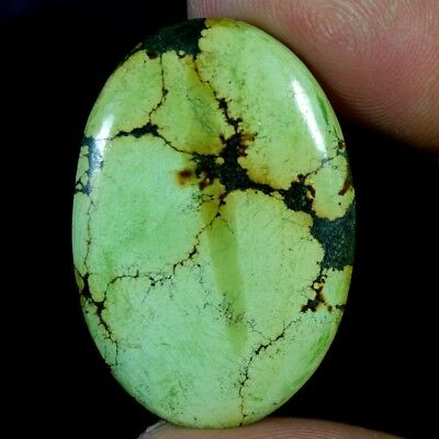 48.40Ct 100% Natural Magnificent Tibet Turquoise Oval Cabochon A+ Loose Gemstone