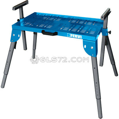 Folding Stand Bench Table Work Center Portable Mobile Tool Machines Fervi 0522