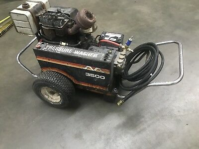 Mi-T-M 3500 pressure washer electric start runs no leaks reliable