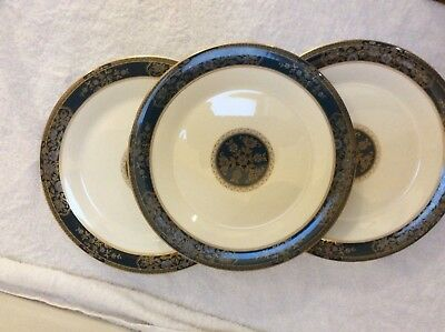 Royal Doulton Carlyle Dinner Plates set of 4