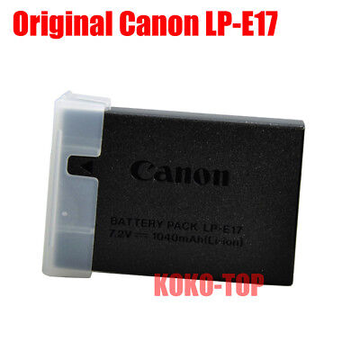 Genuine Original Canon LP-E17 Battery for EOS M3 M5 750D 760D T6i T6s