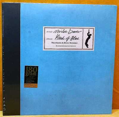 DAVIS, MILES Kind of Blue The Stereo & Mono Version 2LP Numbered Sealed FOC 2015