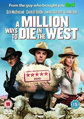 A Million Ways to Die in the West  with Seth McFarlane New (DVD  2014)