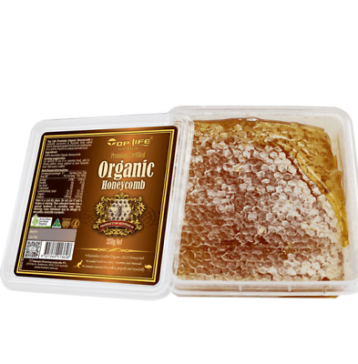 Toplife-Organic Honeycomb 350g