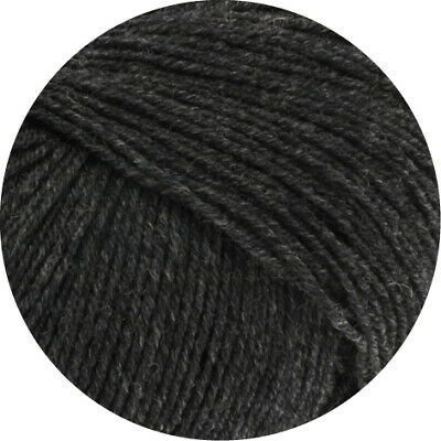 Wolle Kreativ! Lana Grossa - Cool Wool Baby - Fb. 205 anthrazit 25 g