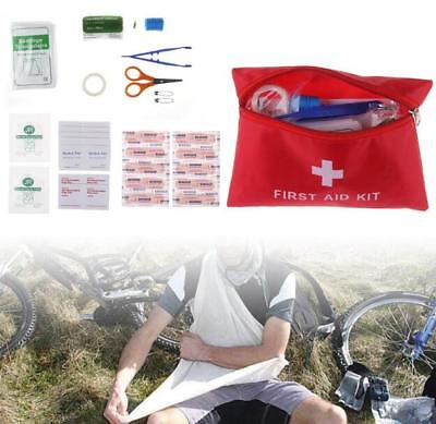 13kinds  Emergency Survival FIRST AID KIT Bag Treatment Pack Home Travel Sports
