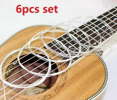 Durable Classical Guitar 6Pc 95cm Nylon Steel Strings Acoustic 0.28-0.43