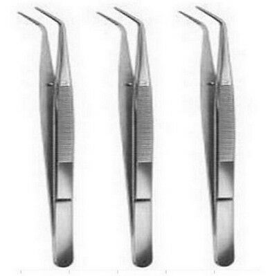 """FD2579 College Cotton Dressing Pliers 6""""Dental Surgical Instruments + Lock 1pc"""