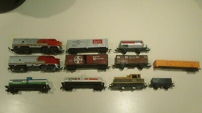 tyco  playart  lima trains  model trains used sold as shown