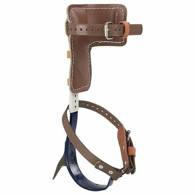 Tree Climber Set, Includes Cushioned Pads, Straps, Leg Irons, Stirrups, Gaff