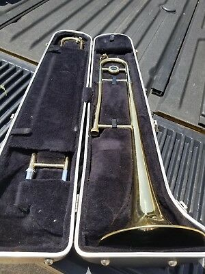 Olds Trombone, Elkhart IN. With Mouthpiece and Hard Case