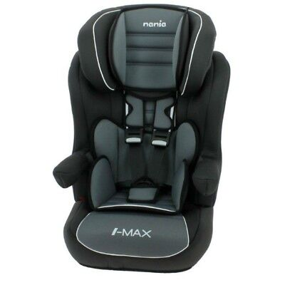 OFFER Nania I-Max Group 1/2/3 9 to 36kg Baby Child Car Seat Booster Agora Storm