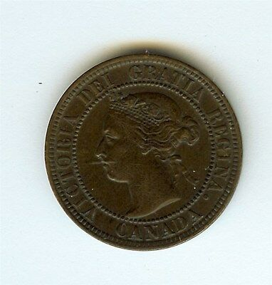 Canada 1900 Large Cent  Nearly Uncirculated