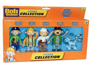 Bob The Builder Collectable Figure Set Brand New Gift Set