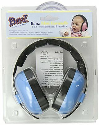 Baby Noise EarMuffs Infant Hearing Comfortable Ear Protection FAST SHP BRANDNEW