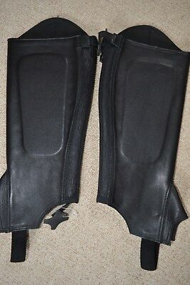 """Half Chaps Shires Supple Leather 16/15"""""""