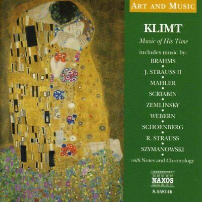 Klimt: Music Of His Time -  CD 72VG The Cheap Fast Free Post The Cheap Fast Free