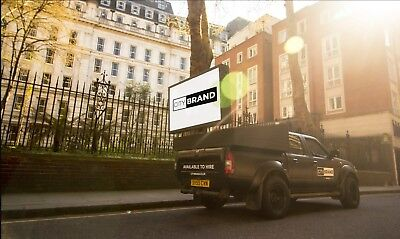 Advertising Van Pick-Up Truck with P4 LED Digital Screen & Full Audio!