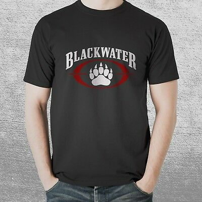New Blackwater Private Army Military Black T Shirt