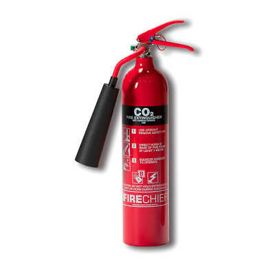 IVG Firechief Fire Extinguisher CO2 for Class A and B and E 2kg IVGS2.0KCO2