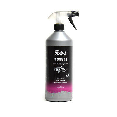 Fictech Ironizer Decontaminante Spray Auto, Cerchi, Carrozzeria, Vetri Ph Neutro