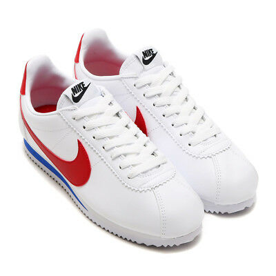 a4283b30fd nike W Classic Cortez Leather RED WHITE BLUE WOMENS SHOE SIZES 807471-103