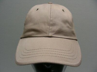 Faded Glory - Beige - 100% Cotton Adjustable Ball Cap Hat