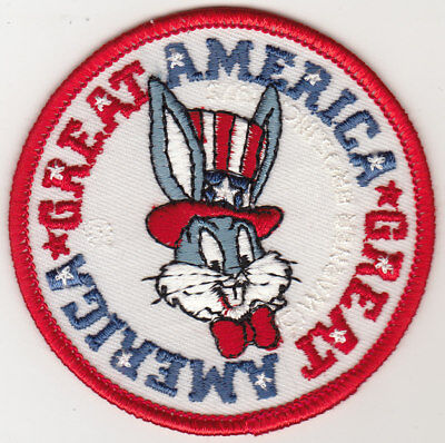 "Patch Bugs Bunny with Uncle Sam Hat Warner Bros ""Great America"" (New)"