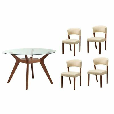 Prime Contemporary Off White Cream Bernhardt Dining Table With 4 Unemploymentrelief Wooden Chair Designs For Living Room Unemploymentrelieforg