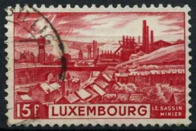 Luxembourg 1948 SG#508, 15f Mining District Used #D75291