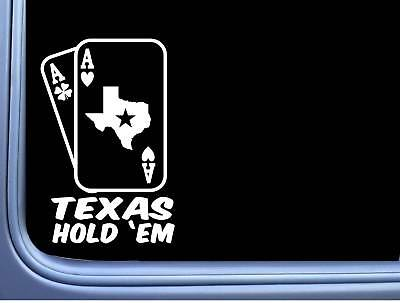 Ace of spades decal card poker Texas holdem  sticker car truck ATV free shipping